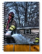 Keep Fire In Your Life No 12 Spiral Notebook