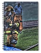 Keep Fire In Your Life No 5 Spiral Notebook