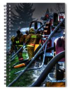 Keep Fire In Your Life No 6 Spiral Notebook