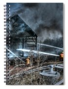 Keep Fire In Your Life No 9 Spiral Notebook