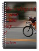 Keep Moving Spiral Notebook