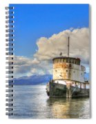 Keep Off Old Ship Spiral Notebook