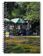 Keep Park Clean Spiral Notebook