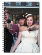 Keira's Destination Wedding - The Pirate Part Spiral Notebook