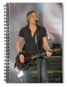 Musician Keith Urban Spiral Notebook
