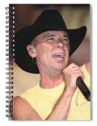 Kenny Chesney Spiral Notebook