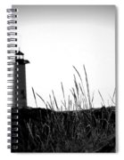 Kenosha North Pier Lighthouse Spiral Notebook