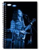 Kent #25 Crop 2 In Blue Spiral Notebook