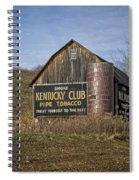 Kentucky Club Barn Spiral Notebook