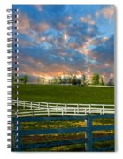 Kentucky Famous Horse Hotel Spiral Notebook