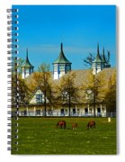 Kentucky Horse Barn Hotel Spiral Notebook