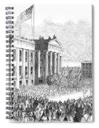Kentucky Louisville, 1861 Spiral Notebook