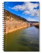 Kentucky River Palisades Spiral Notebook