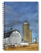 Kenyon Brothers Dairy Spiral Notebook