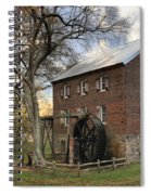 Kerr Grist Mill At Sloan Park Spiral Notebook