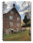 Kerr Grist Mill Panorama Spiral Notebook