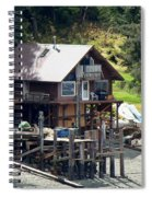 Ketchikan Buildings With Character 2 Spiral Notebook