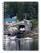 Ketchikan Buildings With Character 1 Spiral Notebook
