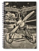Kettering Aerial Torpedo Bug Spiral Notebook