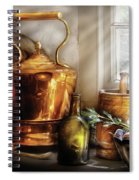 Kettle - Cherished Memories Spiral Notebook