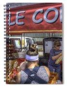 Kettle Corn Spiral Notebook