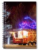 Kettle Corn Stand Spiral Notebook