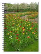 Keukenhof Gardens 29 Spiral Notebook