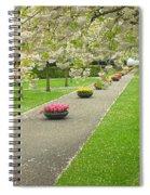 Keukenhof Gardens 32 Spiral Notebook