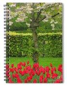 Keukenhof Gardens 34 Spiral Notebook