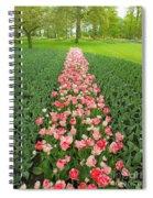 Keukenhof Gardens 41 Spiral Notebook