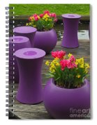 Keukenhof Gardens 46 Spiral Notebook