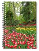 Keukenhof Gardens 53 Spiral Notebook