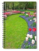 Keukenhof Gardens 54 Spiral Notebook