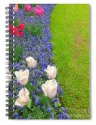 Keukenhof Gardens 55 Spiral Notebook
