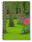 Keukenhof Gardens 60 Spiral Notebook