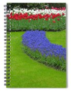 Keukenhof Gardens 62 Spiral Notebook
