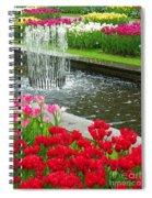 Keukenhof Gardens 71 Spiral Notebook