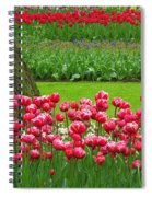 Keukenhof Gardens 91 Spiral Notebook