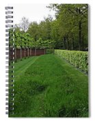 Keukenhof Gardens Panoramic 10 Spiral Notebook