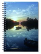 Key Biscayne Sunset 2 Spiral Notebook