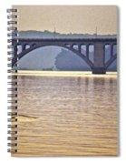 Key Bridge Rower Spiral Notebook