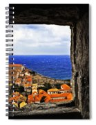 Key Hole View Of Dubrovnik Spiral Notebook