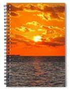 Key West Sunset 11 Spiral Notebook