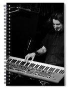 Keyboards Spiral Notebook