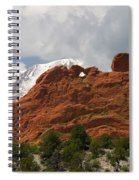 Keyhole To Pikes Peak Spiral Notebook