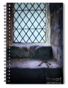 Keys On Stone Windowsill Spiral Notebook