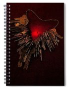 Keys To My Chained Heart Spiral Notebook