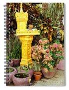 Khmer Shrine Spiral Notebook