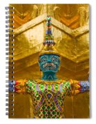 Khon Guard Spiral Notebook