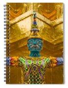 Khon Guard Spiral Notebook
